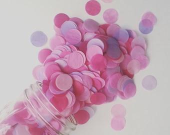 SALE tissue paper confetti / BUBBLEGUM POP / doc mcstuffins party decorations / dessert cake table / pink party confetti / confetti toss