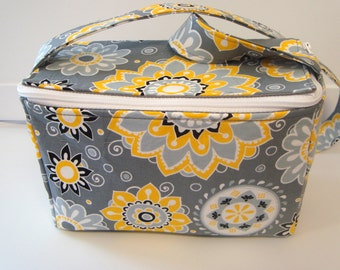 Buy 2  Super Size 4 inch  Coupon Organizer Holder with Zipper Closer -  Pick a Fabric