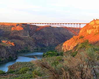 Perrine Bridge in the Snake River Canyon, Twin Falls Idaho Picture