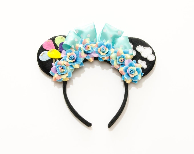Up and Away Mouse Ears Headband