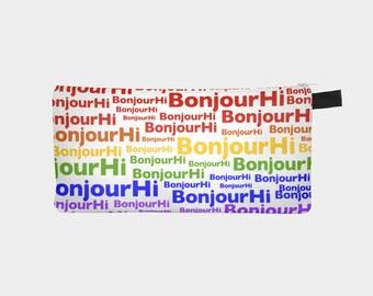 BonjourHi 'Pride' Rainbow Accessory Case for All Your Stuff