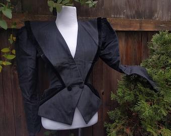 Victorian Style Steampunk Fantasy Couture Vintage Women's Jacket Coat - Boho Bohemian Unique Jacket