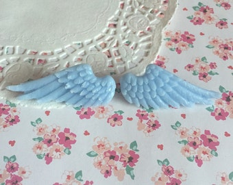 Kawaii Lolita Fairy Kei Angel Wing Hair Clips