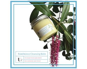 Rá•dî•ànce Cleansing Balm - 4 oz, Natural Skin Care, Face Balms, Skin Corrective Balm, Cleansers, Scar Treatment, Facial Care, Spa Gift