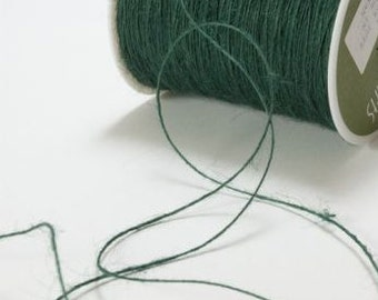 Dark Green Rustic Twine - Jute String