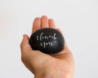 1 Handwritten Thank You Stone
