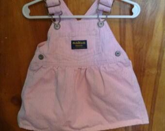 Upcycled OshKosh Clothes Pin Bag