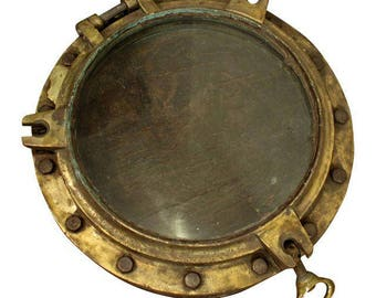 Porthole Antique Architectural Nautical Salvage Porthole