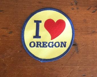 I heart Oregon Patch