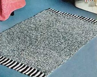Vintage Crochet Rug Pack -  3 Patterns in 1 PDF