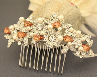 Crystal Hair Comb,Wedding Hair Comb,Crystal Bridal Hair Piece,Bridal Hair Clip,Wedding hair accessories,Bridal hair jewelry,Bridal headpiece