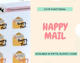 Functional Stickers | Kawaii Stickers | Happy Mail Stickers | Planner Stickers | Mail Stickers | Erin Condren | Happy Planner | CS10
