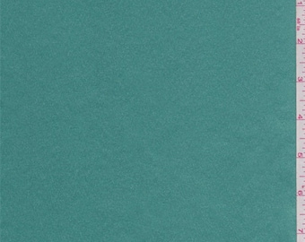 Jade Green Polyester Satin, Fabric By The Yard