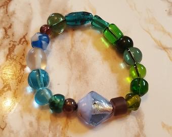 Zee glas Color Wheel armband