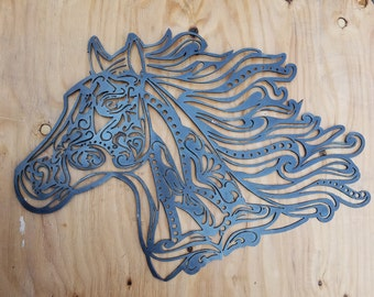 Decorative Horse Head Wall Decor