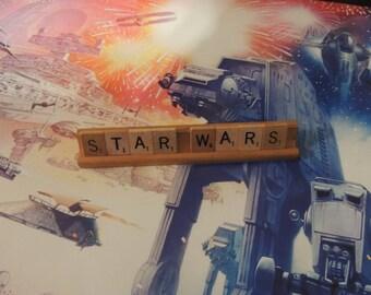 Star Wars Scrabble tile sign