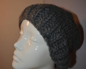 slouchy beanie, beanie hat, chunky slouchy beanie hat, Slouchy Hat, knit slouchy beanie, Knitted Slouchy Hat, chunky slouchy hat