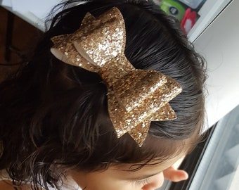Sparkle bows- hair bows- baby- toddler-girls