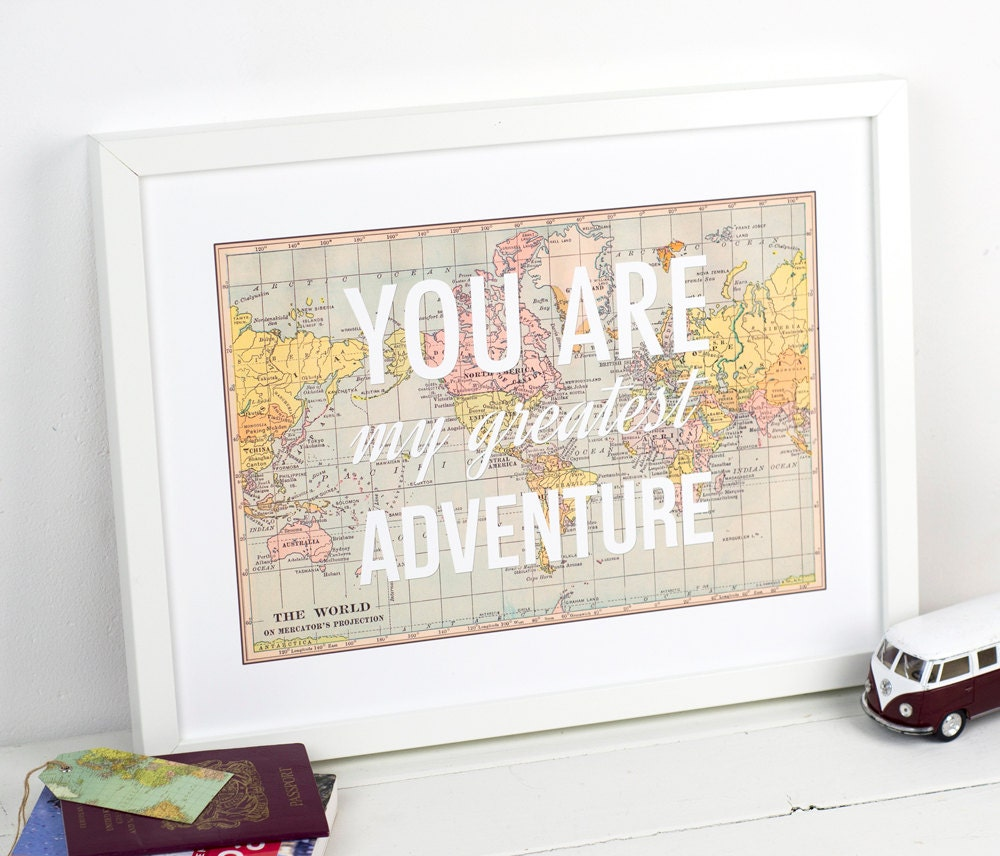 You are my greatest adventure world map poster map art zoom gumiabroncs Image collections