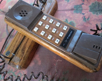 "Precisa Wooden Case 'Princess"" Phone 1970's"