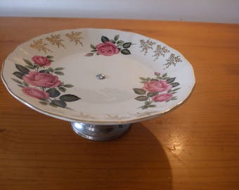 Royal Staffordshire Ceramics single tier cake stand/cup cake stand