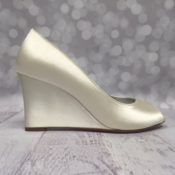 Wedding Shoes Wedding Wedges Ivory Wedding Shoes Ivory Lace