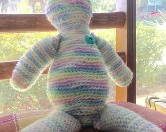 Rainbow teddy