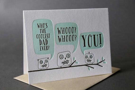 "Owls Glow-in-the-Dark ""Coolest Dad"""