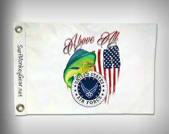 Air Force Armed Forces 2 sided marine Flag custom designed