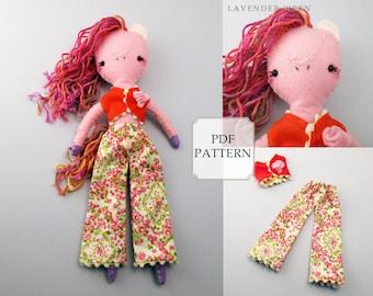Plush Pattern, Felt Plush Toy Pattern, Plush Horse Sewing Pattern, Plush Horse Pattern, Felt Pattern, Plush Pony Sewing, Plush Horse Toy PDF