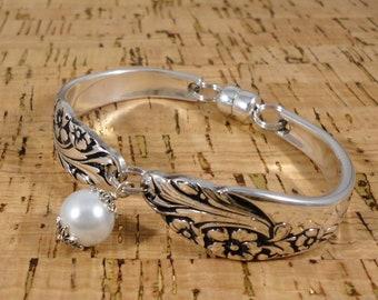 Evening Star Spoon Bracelet 1950 Birthday Bridal Bride Jewelry Silverware Flatware Gift