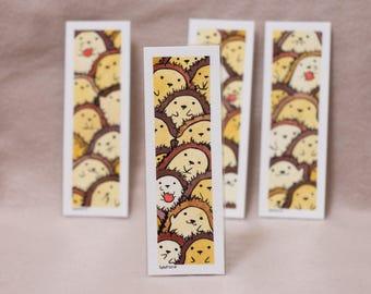 Hedgehog bookmark [ORIGINAL ART]