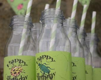 Bug Bottle Wraps