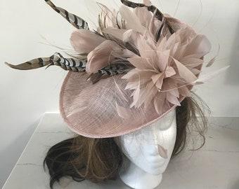Kentucky Derby Fascinator Hat, Kentucky Derby Hat, Del Mar Hat, Royal Ascot Hat, Derby Hat, Sinamay Hat