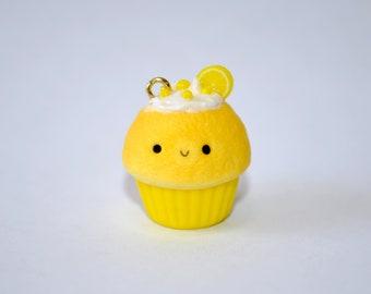Hand-Made Kawaii Cupcake ~ Lemon