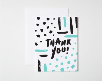 Thank You Card- Abstract