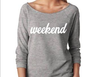 Weekend Crewneck