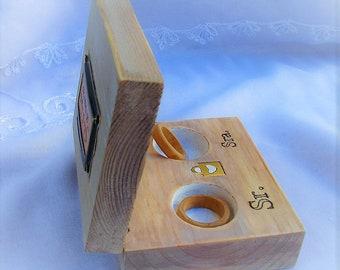 porta anillos boda, caja anillos boda, caja porta alianzas, porta alianzas, wedding ring box, rustic wedding ring box, caja rústica
