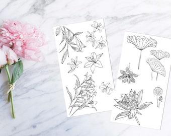 Lilies - Decorative Set