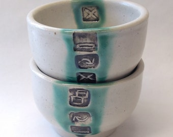 Two Windows IChing Cups