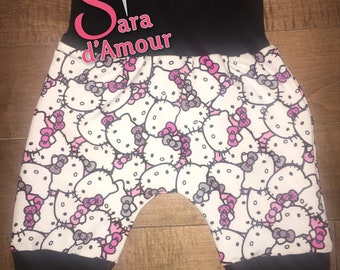 short evolutionary hello kitty 6-36 months