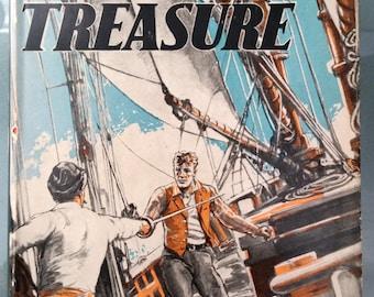 Dark Treasure - William MacMillan, 1943, young adult  treasure adventure on mysterious island in Arctic Northwest Passage