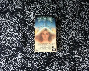 Xanadu VHS Tape. Rare 80s Fantasy Musical Sci Fi Video. Olicia Newton John Weirdo Trippy Sci Fi VHS.