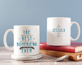 Best Boyfriend Mug - Best Husband Mug - Secret Message Mug Gift - Boyfriend Gift - Gift for Boyfriend - Token Boyfriend Gift
