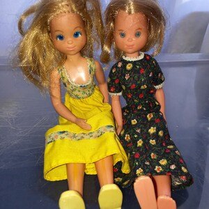 vintage 1970's Sunshine family dolls mother Sunny and mother