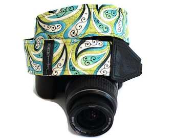 Camera Strap - Customized Strap for Nikon, Canon - Colorful photographer shoulder strap - Handmade
