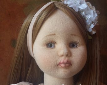 Textile art doll / OOAK doll / Interior doll / Doll for gift