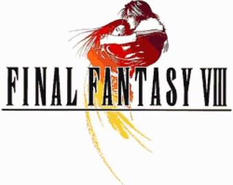 Final Fantasy VIII Logo Cross Stitch Pattern