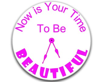 Inspirational sign, Be Beautiful, signs for the home, novelty plaque, outdoor sign, indoor sign, personalised sign
