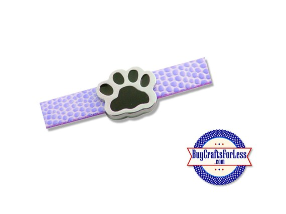 PAWS for 8mm Slider Bracelets, Collars, Choker, Key Rings +FREE Shipping & Discounts*